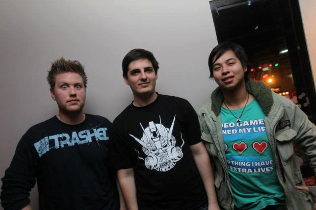 Xavier, Mike and Phero (Duy)