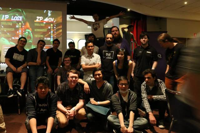 KOF guys asked me to take a group photo. Ironically I don't know how to take photos on my camera, just video cos I am a scrub. Jaunty ended up taking this.